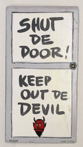 SHUT. DE DOOR - Keep Out De Devil