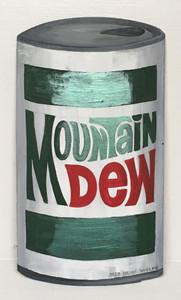 MOUNTAIN DEW CAN - Wood CutOut bt Heidi Wolfe
