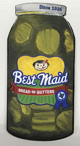Best Maid PICKLES JAR by Heidi Wolfe
