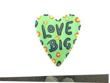 LOVE BIG HEART CUT-OUT