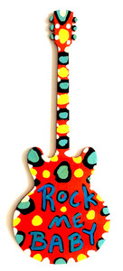 GUITAR CUT-OUT - ROCK ME BABY - BY BEBO