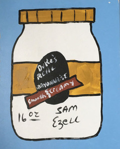 DUKE'S MAYONAISE - Stretched Canvas by Sam Ezell - C