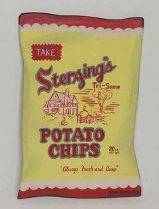 STERZING'S POTATO CHIPS PACKAGE By Heidi Wolfe