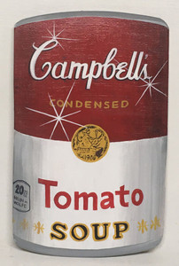 CAMPBELLS TOMATO SOUP CAN - by Heidi Wolfe