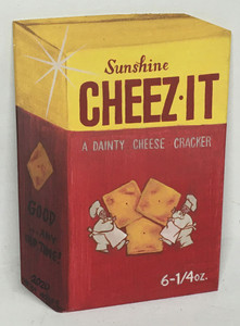 CHEEZE-IT CRACKERS BOX by Heidi Wolfe