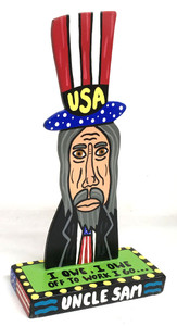 Uncle Sam - Cut-out - Stand Up by Roxane J