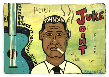 ROBERT JOHNSON JUKE JOINT by Roxane J