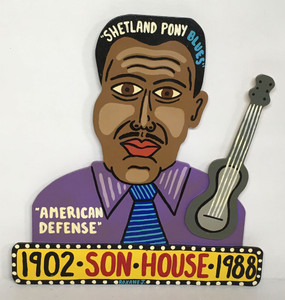 SON HOUSE Cut-out - by Roxane J