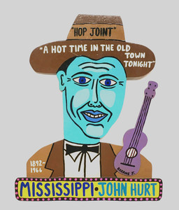 MISSISSIPPI JOHN HURT - cutout by Roxane J