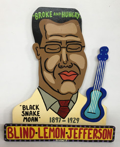 BLIND LEMON JEFFERSON - cutout by Roxane J