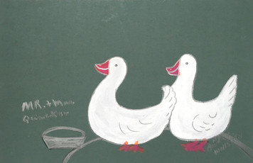 MR & MRS QUACKER by Annie Wellborn