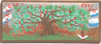 THANK GOD EVERY DAY - APPLE TREE -  by Myrtice West