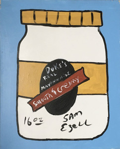 DUKES MAYONAISE PAINTING (A) on Canvas by Sam Ezell