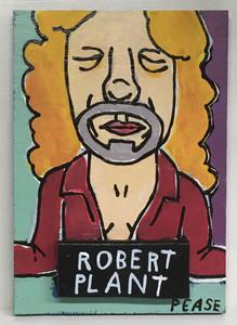 ROBERT PLANT PORTRAIT by Ken Pease