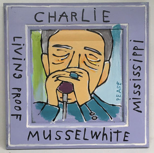 CHARLIE MUSSELWHITE HARP MAN by Ken Pease