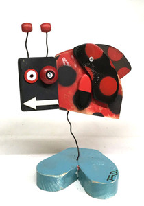 LADY BUG Assenblage by Tony Dotson