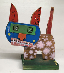 """PRETTY PUSS"" Assemblage by Tony Dotson"