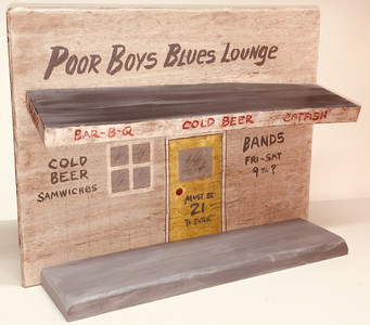 POOR BOY BLUES LOUNGE - Honky-Tonk - Juke Joint - Was $95 - Now $60
