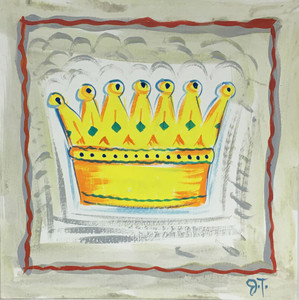 CROWN - COLORFUL PAINTING by John Taylor