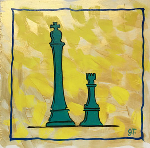 KING and ROOK Painting by John Taylor