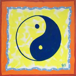 YING-YANG - Painting by John Taylor---