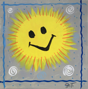 SUNSHINE Painting by John Taylor