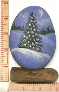 CHRISTMAS TREE w/ GLITTER - by Martha Winenger NOW $50