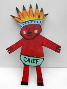 Big Injun Chief by John Taylor - WAS $30 - NOW $20