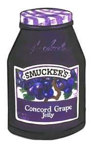 SMUCKERS GRAPE JELLY by Heidi Wolfe