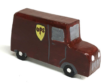 UPS DELIVERY VAN by Eddie Armstrong