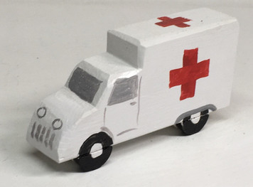 Red Cross AMBULANCE by Eddie Armstrong