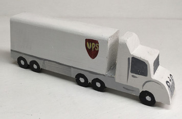 UPS SEMI TRUCK by Eddie Armstrong