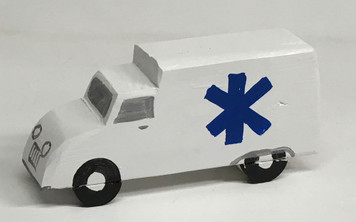 MODERN AMBULANCE by Eddie Armstrong