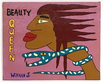 SNAKE LADY - BEAUTY QUEEN by Willard J