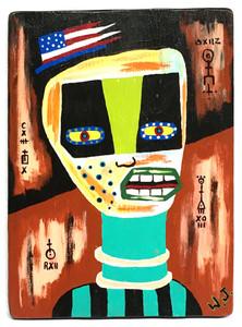 ALIEN - RAW ART BRUTE #11 - by Willard J