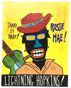LIGHTING HOPKINS - Rosie Mae by Willard J