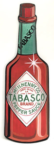 TABASCO - PEPPER SAUCE BOTTLE - Heidi Wolfe
