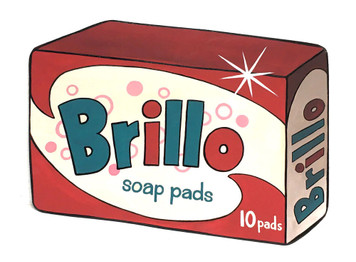 BRILLO SOAP PADS PKG by Heidi Wolfe