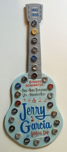 JERRY GARCIA GUITAR - WALL HANGER