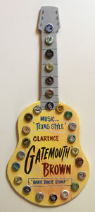 GATEMOUTH BROWN - GUITAR - WALL HANGER