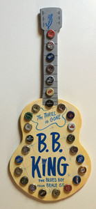 B B KING - GUITAR  - WALL HANGER