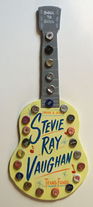 STEVIE RAY VAUGHAN - GUITAR WALL HANGER