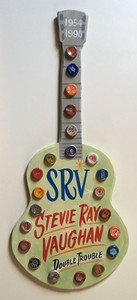 STEVIE RAY VAUGHAN - CUT OUT GUITAR