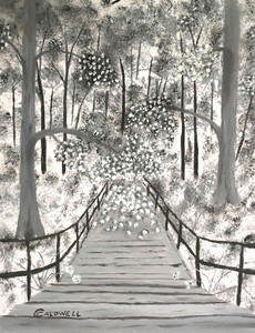 The FOREST BRIDGE #15 - by Chris Caldwell