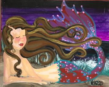 MERMAID #9 - by Nina O'Reilly
