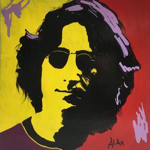 JOHN LENNON - Retro Art by Alan