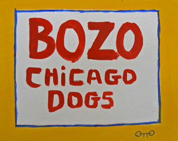 Bozo Chicago Dogs by Otto $20 - Now$10