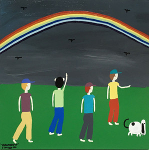 Kids Chasing a RAINBOW - by Jimmy W