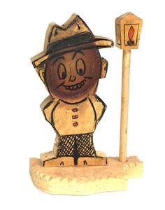 KNOTHEAD GUY and LAMP POST #13 - Geo G Borum