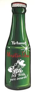 MOUNTAIN DEW - Old Style Bottle by Heidi Wolfe